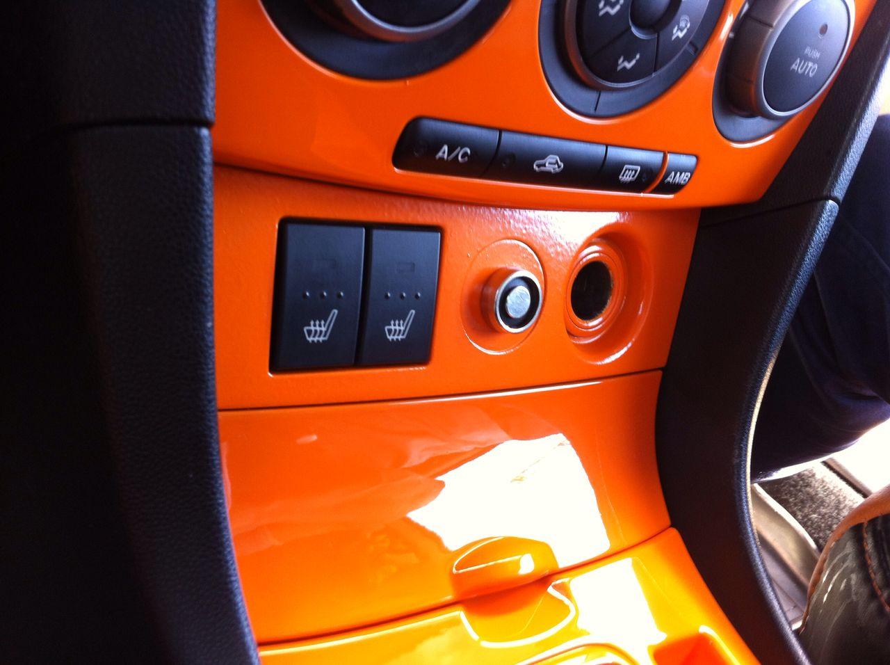 Покраска деталей интерьера автомобиля