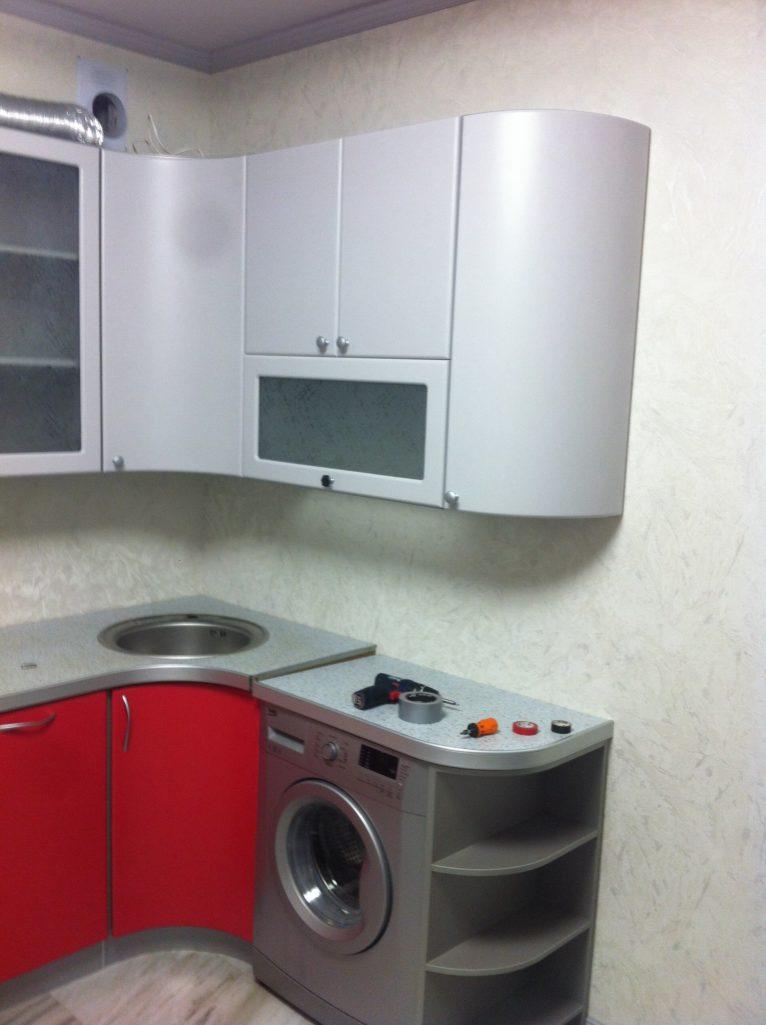 Покраска кухонных фасадов МДФ, ral7047/ral3018